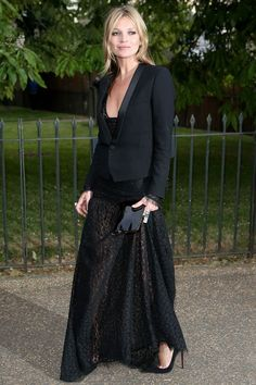 Fiesta The Serpentine Gallery 2013 - Kate Moss.... simplemente hermoso su vestido
