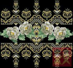 KUFER with artistic handicraft: Geometric embroidery Jacobean Embroidery, Folk Embroidery, Embroidery Patterns Free, Cross Stitch Embroidery, Geometric Embroidery, Beaded Cross Stitch, Cross Stitch Borders, Cross Stitch Flowers, Cross Stitch Patterns