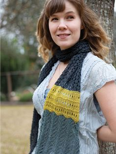 Lady Fern Knit Pattern