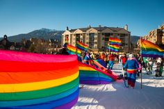 What does year in the life of Whistler look like? See for yourself with this photo retrospective of 2014 from Whistler photographer Mike Crane. Pride Week, Ski And Snowboard, Whistler, British Columbia, Vancouver, Skiing, Canada, World, Photography