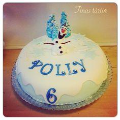 Frozen cake with Olaf for my pretty niece #frozen #frost #olaf #tårta #cake #torta #tinastårtor