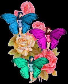 Fairies On Roses photo FairiesOnRoses.gif