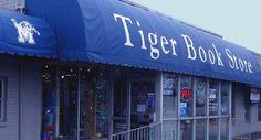 Tiger Bookstore; Off-campus, Online, Always fun!  #university of memphis  #college textbooks