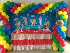 CIRCUS PARTY DECRATION BY SWEET TREAT www.sweettreatusa.com