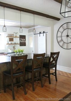 Farmhouse Kitchen: Before & After - Christinas Adventures