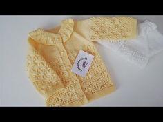 1 YAŞ BEBEK HIRKA YAPIMI / KIR ÇİÇEKLERİ MODELİ İLE HIRKA @KARDEŞ ÖRGÜLER Örgü Desen - YouTube Crochet Baby, Knitting, Youtube, Knit Jacket, Knitting And Crocheting, Tejidos, Tricot, Breien, Stricken