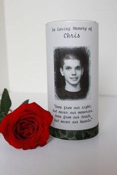 Memorial candle funeral candle wedding candle by sweetmemoryflame 15