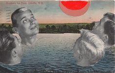 the man pond | by Felicia Dadak