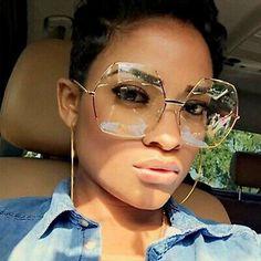 Oversized Glasses, Fashion Eye Glasses, Gold Sunglasses, Reflective Sunglasses, Stylish Sunglasses, Sunnies, Womens Glasses, Eyeglasses For Women, Silver Metal