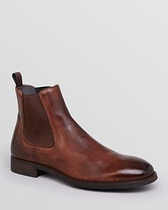 To Boot Cary Leather Chelsea Boots Men - Bloomingdale's Brown Leather Chelsea Boots, Dark Brown Leather, To Boot New York, Boots Online, Casual Boots, Shoe Boots, Shoes, Men Dress, Footwear