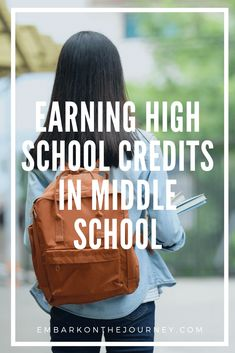 Earning High School Credits in Middle School