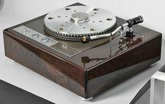 Garrard 401 with Ortofon RMG-212 tonearm high end audio audiophile turntable