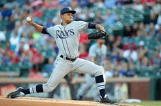 Chris Archer - Tampa Bay Rays pitcher (right hander) Chris made his MLB debut on June 20, 2012