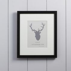 Just Staggering Framed Print