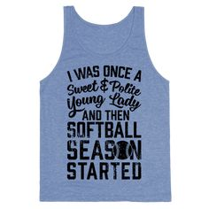 Whether you're looking for softball t shirts, gifts for softball players, or an awesome softball team t shirt to wear to events, this funny softball girl t shirt is perfect! Softball girls don't take crap from anyone, so show off your badass sport pride with this cool softball shirt!