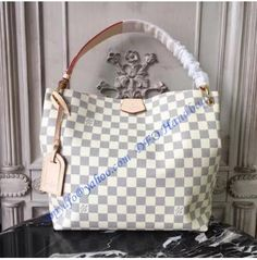 3c8bc3abcb Louis Vuitton Damier Azur Graceful PM N42249. Discount Designer HandbagsDesigner  BagsReplica ...