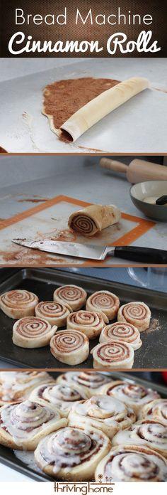Bread Machine Cinnamon Roll Recipe