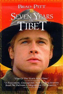 seven year in tibet.a documentary film about the way of life in tibet. luv u brad pitt Cinema Tv, Films Cinema, Movies And Series, Movies And Tv Shows, See Movie, Movie Tv, Sete Anos No Tibet, Der Name Der Rose, Tibet