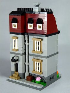 """LEGO Mini Modulars - MOC: """"Townhouse"""" 