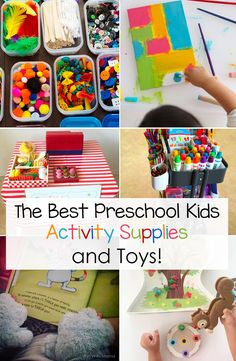 The Best Preschool Kids Activity Supplies and Toys