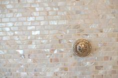 Mother of pearl tile backsplash - Kitchens Forum - GardenWeb