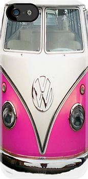 vw pink iPhone case