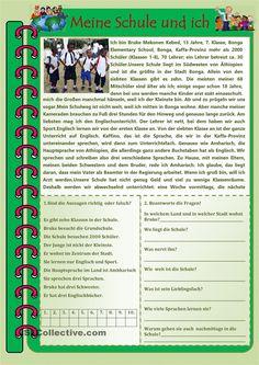 Meine Schule und ich6. Preschool Learning, Teaching, Deutsch Language, D School, Germany Language, German Grammar, Language Acquisition, German Language Learning, Comprehension