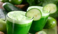 How to Use Cucumber Water for Weight Loss - Detox Diet. With only 13 calories per 100 grams, the cucumber is a food that is present in all the fad diets for weight loss. Its cleansing. Juice Cleanse Recipes, Green Juice Recipes, Smoothie Recipes, Healthy Juices, Healthy Smoothies, Healthy Drinks, Stay Healthy, Smoothies Verts, Healthy Brain