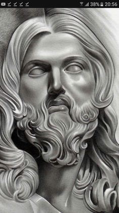 Lessons That Will Get You In The arms of The Man You love Chicano Drawings, Chicano Tattoos, Body Art Tattoos, Sleeve Tattoos, Zeus Tattoo, Statue Tattoo, Tattoo Design Drawings, Tattoo Sketches, Jesus Christ Drawing