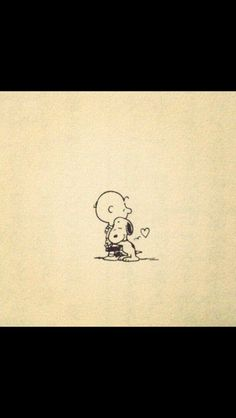 Snoopy & Charlie Brown...