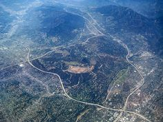 los angeles from above