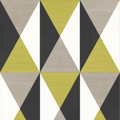 Muriva Rhombus Triangle Square Geometric Pattern Textured Wallpaper J67904