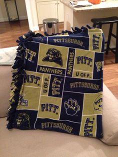 University of Pittsburgh Blanket Pitt by BlanketsUnlimited, $39.00