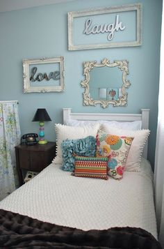 Cool idea - Teenage girls bedroom designs for small bedrooms | Decorative Bedroom