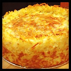 Hash Brown Crusted Quiche! The best of everything all in one place. Yum