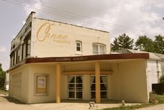 """"""" Canna Theater """" in Gillespie Illinois  """" Route 66 on My Mind """" http://route66jp.info Route 66 blog ; http://2441.blog54.fc2.com https://www.facebook.com/groups/529713950495809/"""