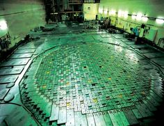 top patch of nuclear reactor