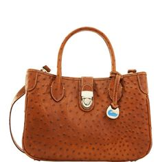 Dooney & Bourke: Ostrich Small Double Handle Tote