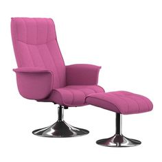 Portfolio Deane Fuchsia Pink Linen Chair and Ottoman - 17633137 - Overstock.com Shopping - Great Deals on PORTFOLIO Living Room Chairs