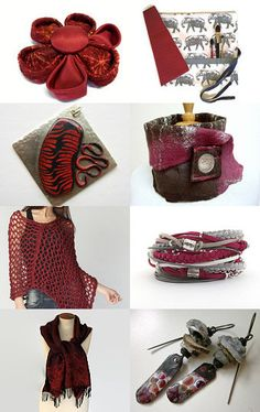 A Splash Of Burgundy . . . by Bev on Etsy--Pinned with TreasuryPin.com