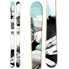 Salomon Rockette 92 Skis - Women's 2013