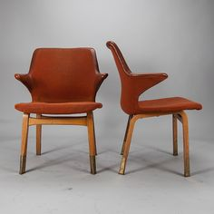 Ilmari Tapiovaara; 'Lulu' Armchairs for Asko, 1960s.