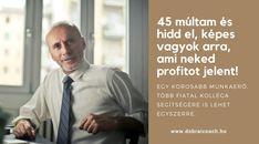45 feletti munkaerő előnyei - Dobrai F. Coaching, Business, Training, Store, Business Illustration