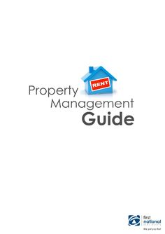 FNRE Coombs Property Management Guide  A guide to our property management service.