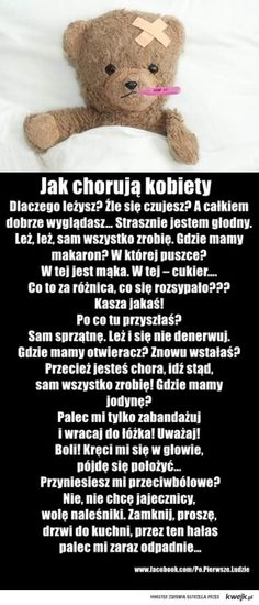 Tak chorują kobiety Words Of Wisdom Quotes, All Quotes, Weekend Humor, Funny Memes, Jokes, Cheer Up, Man Humor, Good Mood, Friendship Quotes