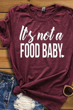 Funny Pregnancy Announcement - Pregnancy Humor, It's not a food baby Tee, Pregna. - Funny Pregnancy Announcement – Pregnancy Humor, It's not a food baby Tee, Pregnancy Photo Prop - Pregnancy Humor, Pregnancy Gifts, Pregnancy Outfits, Pregnancy Photos, Pregnancy Info, Pregnancy Belly, Funny Pregnancy Announcements, Funny Pregnancy Shirts, Pregnancy Classes