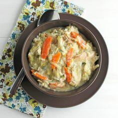 Tarragon Chicken Wild Rice Soup