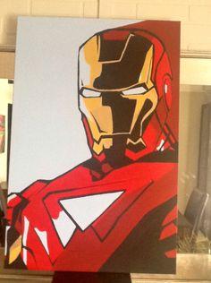 Barbo, Pop Art, Iron Man Source by daniellebarbeau Avengers Painting, Avengers Art, Marvel Art, Marvel Drawings, Art Drawings, Marvel Canvas, Iron Man Drawing, Marvel Paintings, Iron Man Art