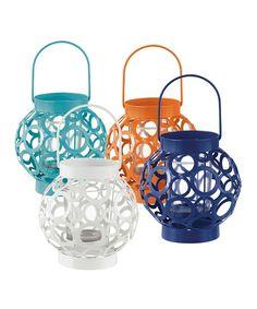 Cutout Sphere Lantern Set