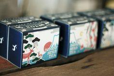 ハーブティー パッケージ - KIGIPRESS Packaging Design Inspiration, Indigo, Package Design, Paper, Blog, Indigo Dye, Packaging Design, Blogging, Design Packaging